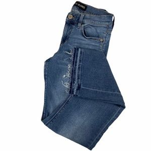 Express Barley Boot Mid Rise Ultimate Stretch Jean